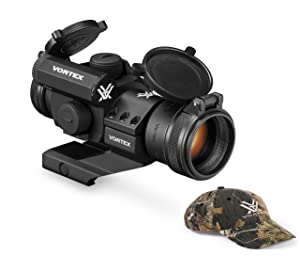 Vortex Optics StrikeFire 2 Red/Green Dot Sight with Cantilever Mount