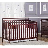 Dream On Me Liberty 5-in-1 Convertible Crib (Cherry)