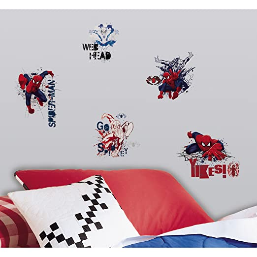 Ultimate Spider Man Graphic Peel and Stick Wall Decals