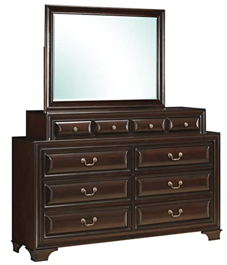 Glory Furniture G8875-D Bedroom Dresser, Cappuccino