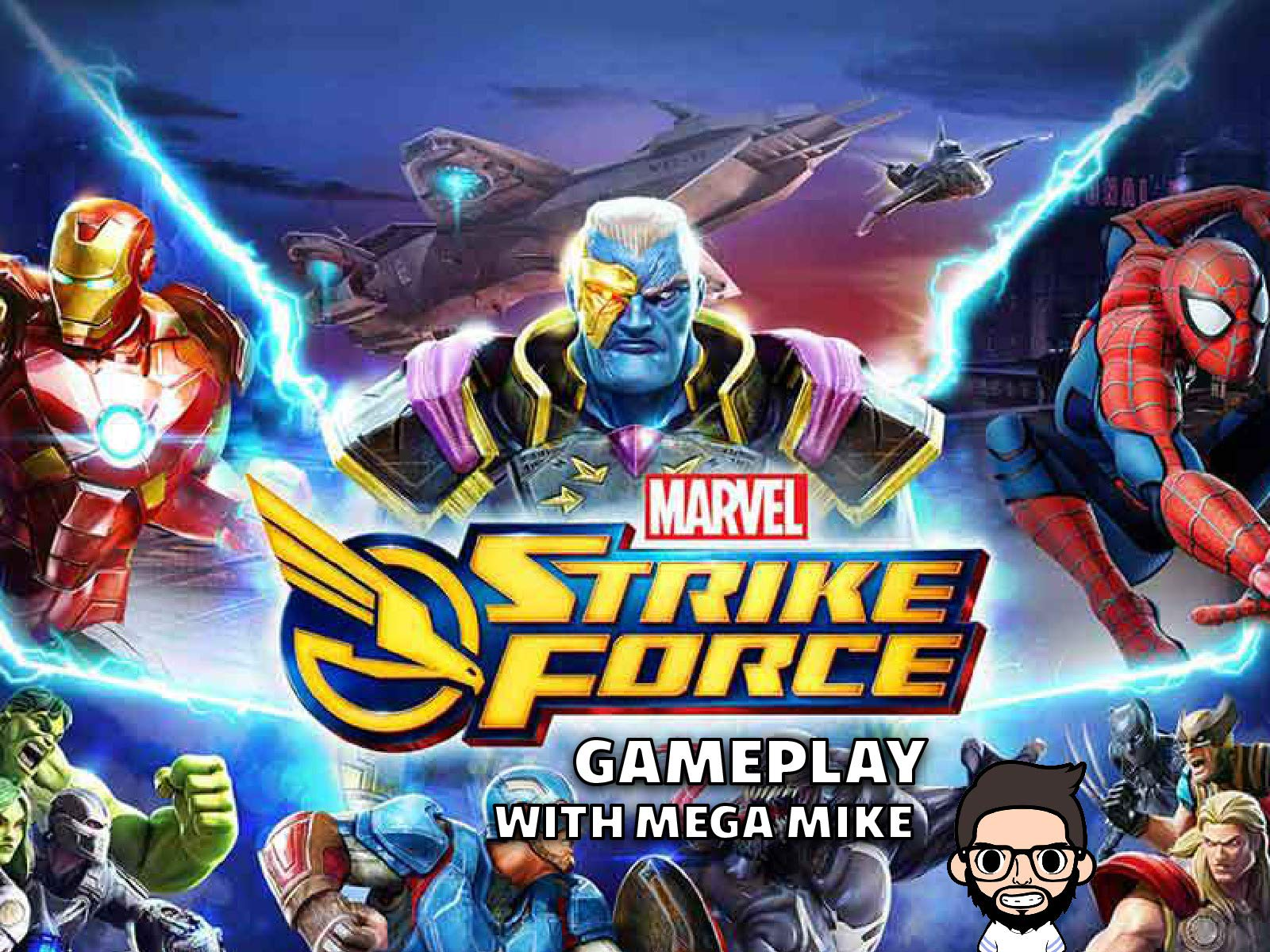 Marvel Strike Force Gameplay With Mega Mike on Amazon Prime Instant Video UK