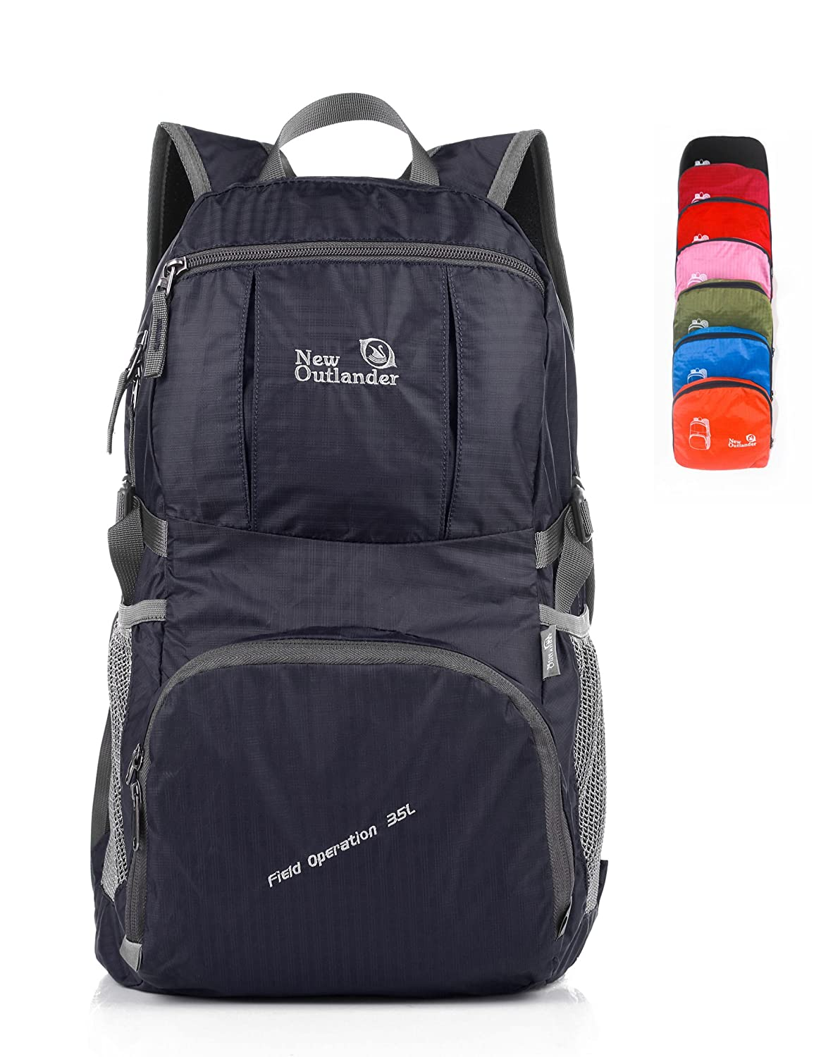 LARGE! 30L! Outlander Packable Handy Lightweight Travel Backpack Daypack+Lifetime Warranty