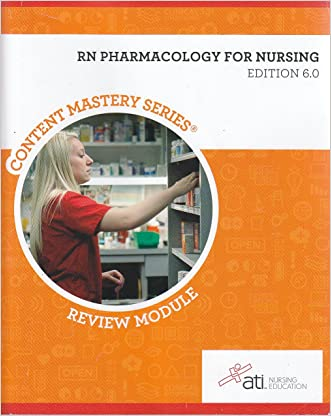 RN Pharmacology for Nursing Edition 6. 0