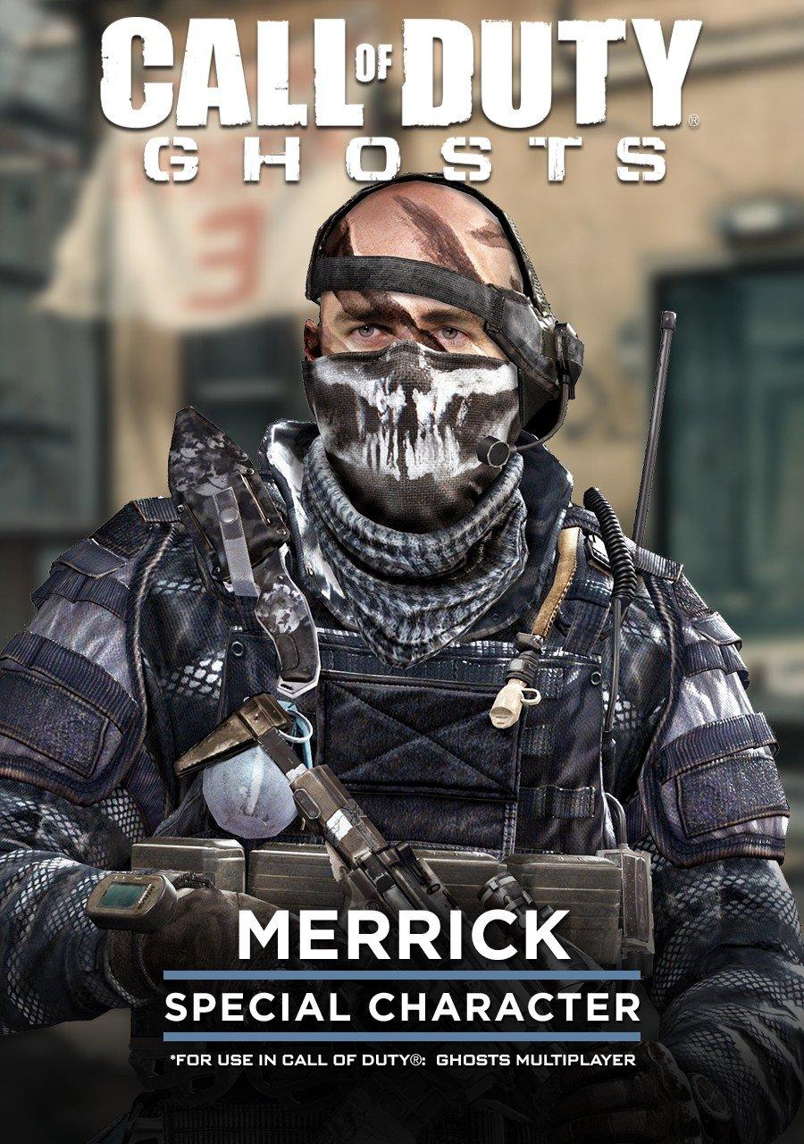 Cod ghost merrick mask