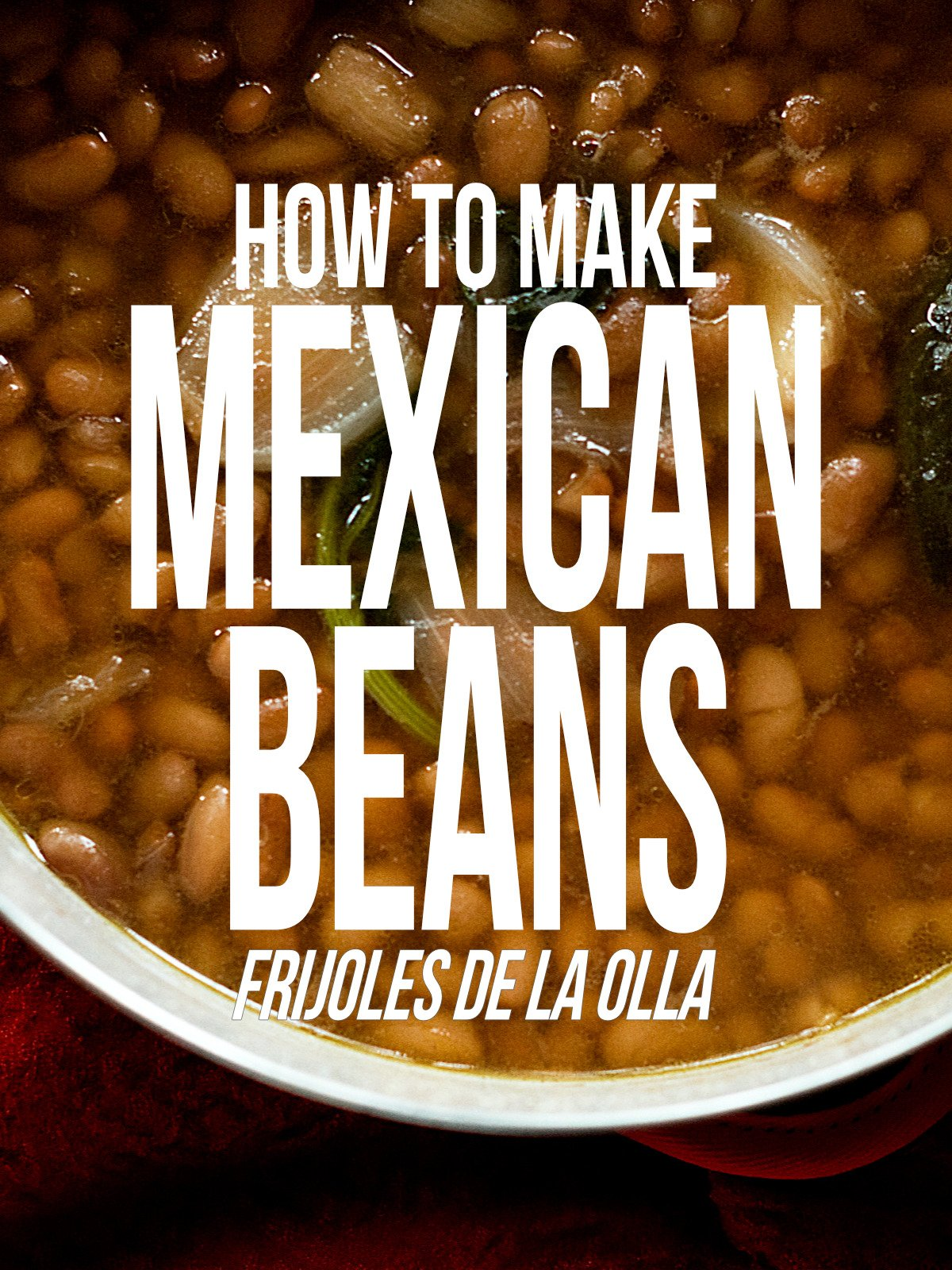 How to Make Mexican Beans on Amazon Prime Video UK