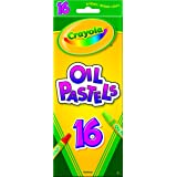 Crayola Crayola, Oil Pastels, Art Tools, 16 ct., Rich Colors, Great for Blending Colors (Color: Assorted Color, Tamaño: 16 Count)