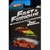 2013 Hot Wheels The Fast and the Furious Official Movie Merchandise Limited Edition Toyota Supra 2/8 by Hot Wheels