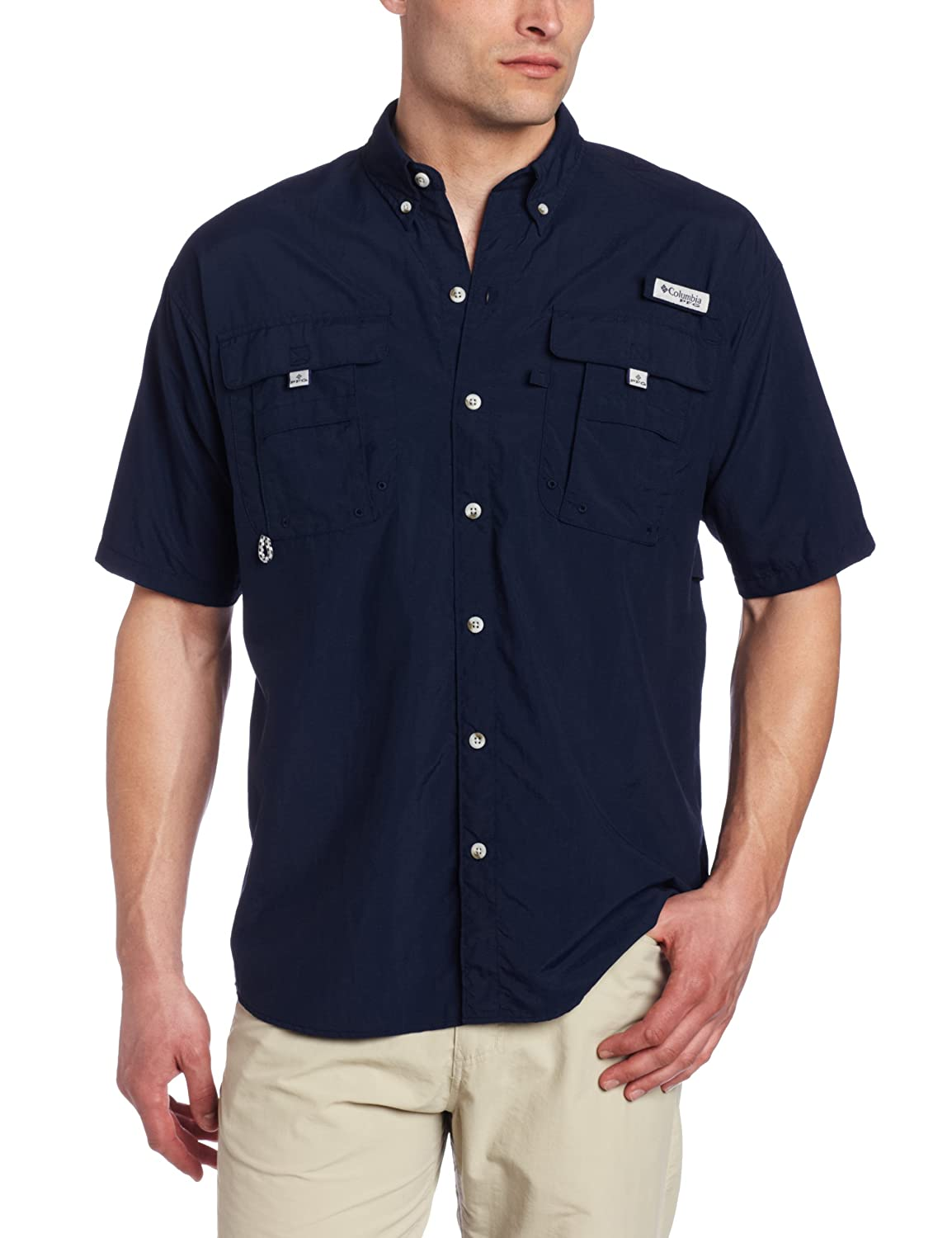 Amazon.com : Columbia Men's Bahama II Short-Sleeve Shirt : Button Down Shirts