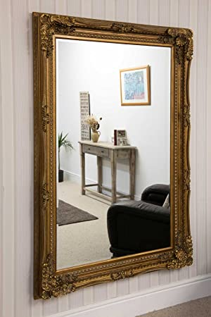 Carved Louis Gold 185 x 123 mirror