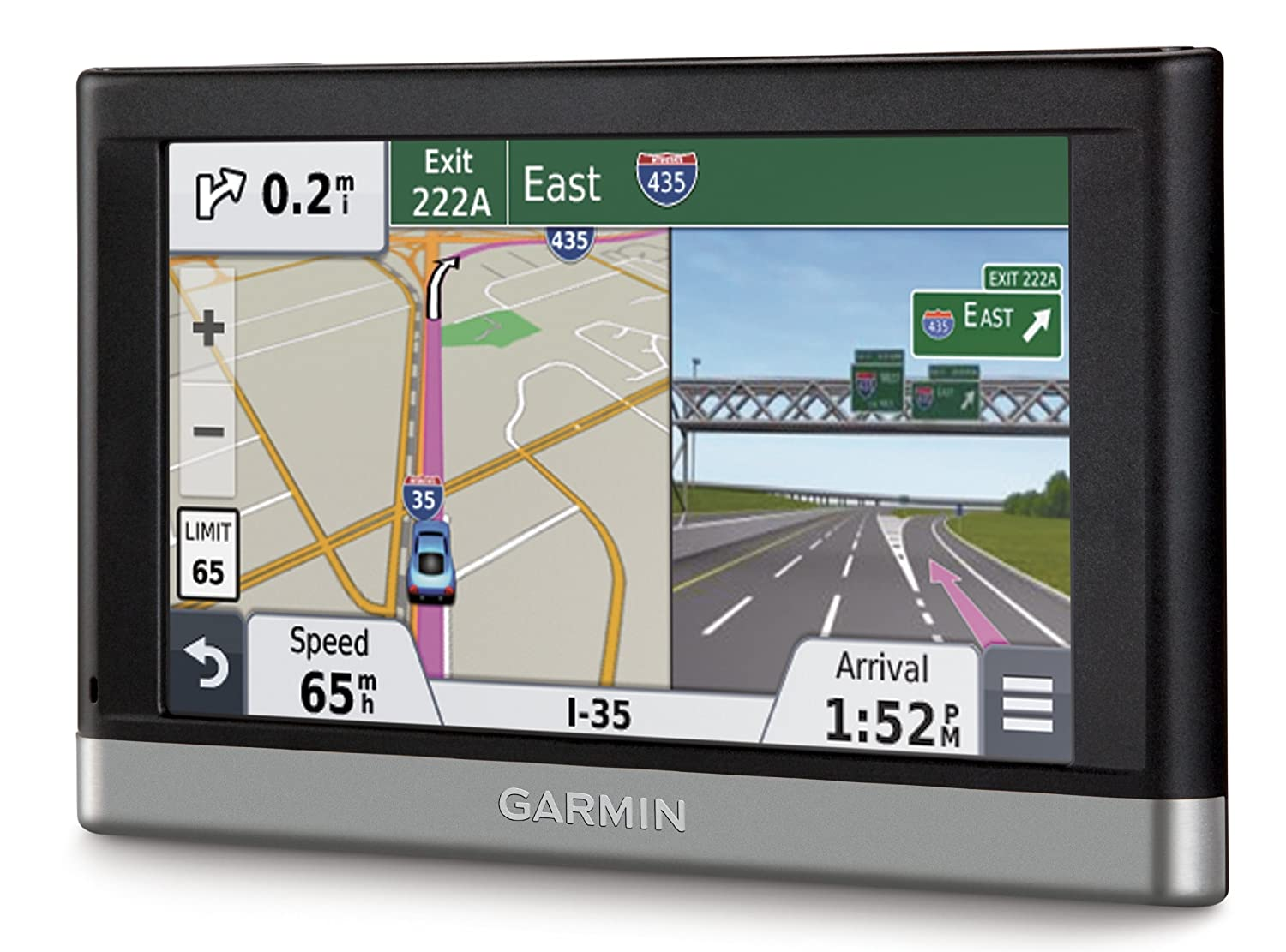 Garmin DriveSmart 51 LMT-S The best car GPS. The best guidance, most intuitive interface, and best voice control system, with Wi-Fi updating and a multi-touch display.