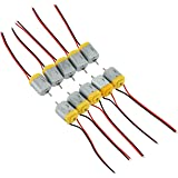 10 Pack of Miniature DC Motors for Hobby Projects