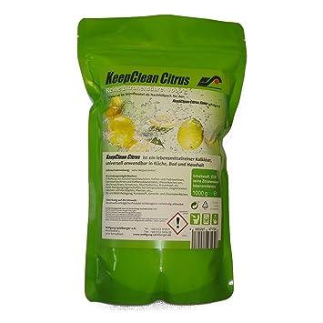 Keepclean Citrus Zitronensaure  Liter Im Mikrowellengeeigneten Kunststoffeimer Mit Deckel Und Lebensmittelfreigabe Kjgnfkhjlk