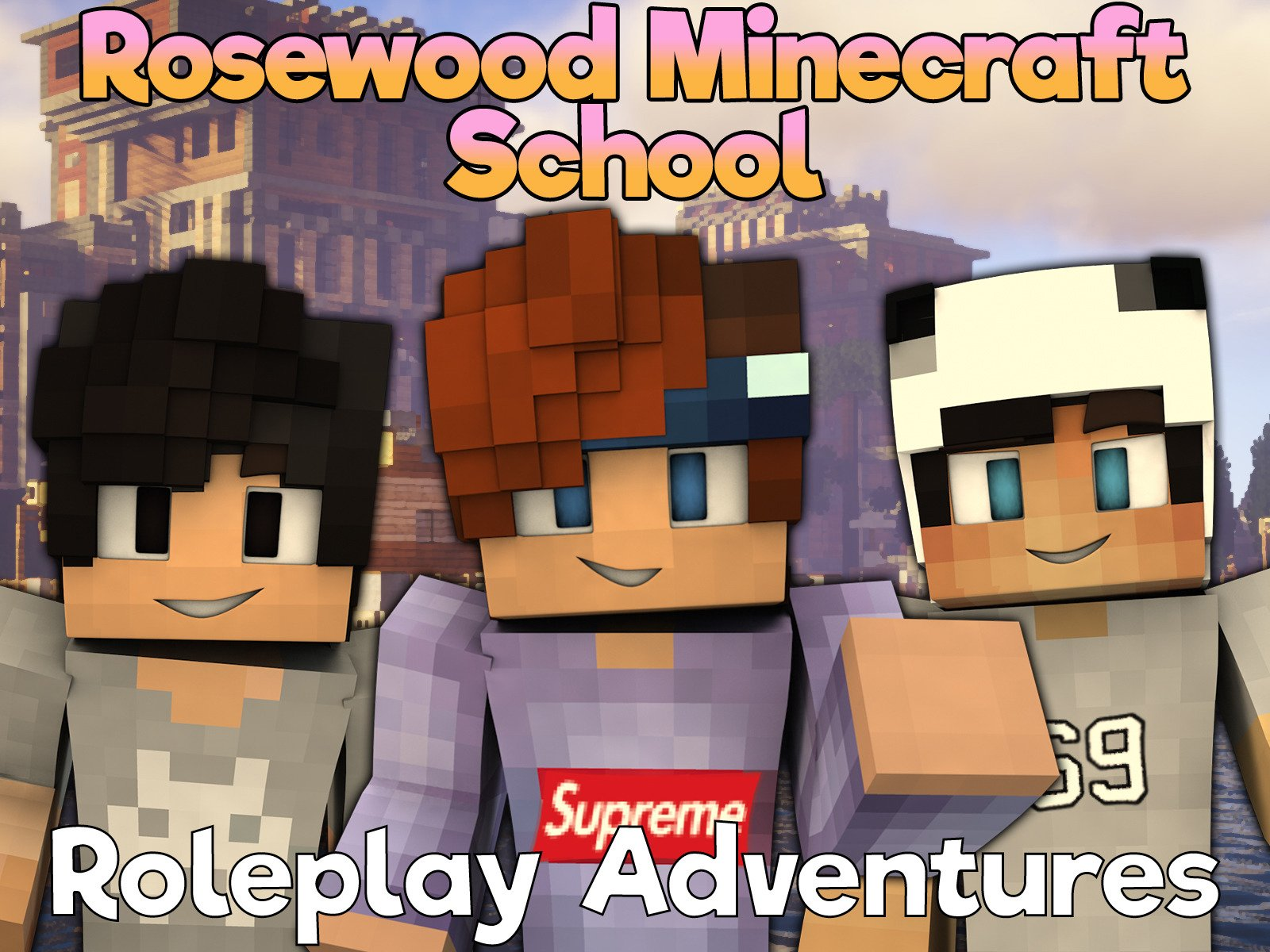 Clip: Rosewood Minecraft School (Roleplay Adventures)