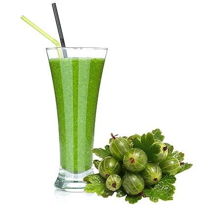 Stachelbeer Geschmack Proteinpulver Vegan mit 90% reinem Protein Eiweiß L-Carnitin angereichert fur Proteinshakes Eiweißshakes Aspartamfrei (10 kg)