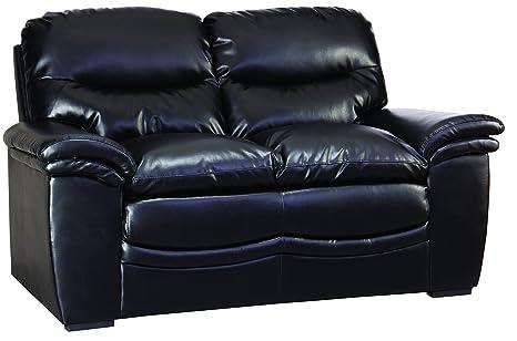 Glory Furniture G183-L Living Room Love Seat, Black