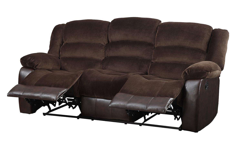 Glory Furniture G945-RS Reclining Sofa - Brown