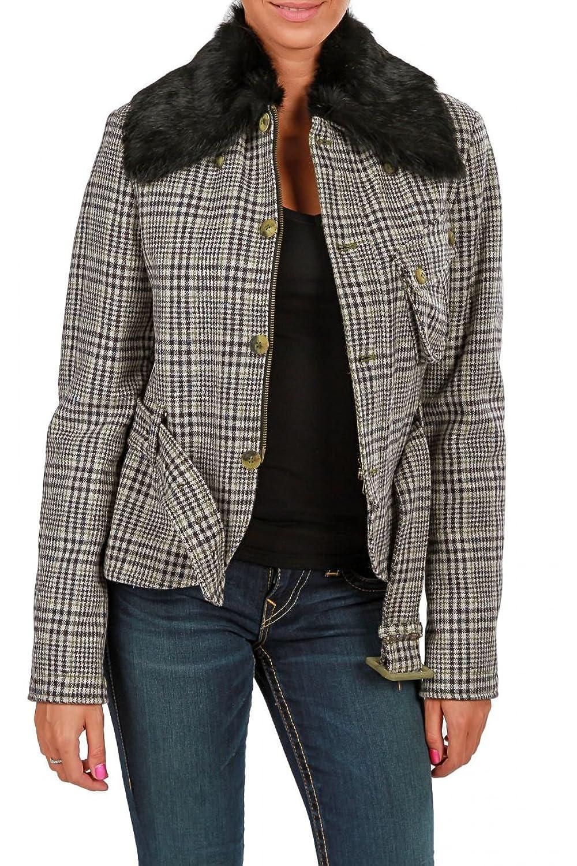 Belstaff Damen Jacke BURFORD BLOUSON , Farbe: Grau