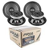 4X 6 Full Range Mid Bass Loud Speaker 4 Ohm 6MB200V2 800 Watts PRV Audio