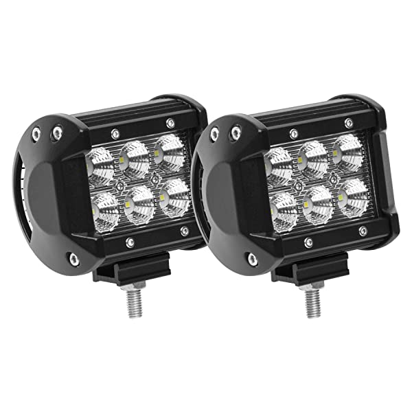 Led light podseyourlife 18w led work light cree led 4x4 off road led light podseyourlife 18w led work light cree led 4x4 off road light bar pair aloadofball Image collections
