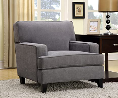 Furniture of America Taylor Classic Chair, Gray