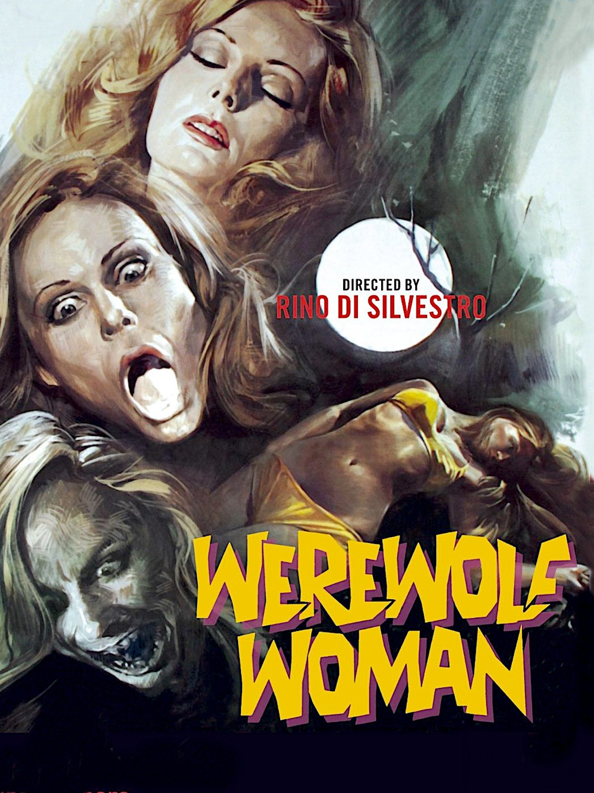 Werewolf Woman on Amazon Prime Instant Video UK