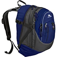 High Sierra Fat Boy Backpack - Blue Velvet/Charcoal