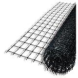 Tenax 2A120145 Deer Control Fence, 7.5' x 165', Black