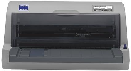 Epson LQ 630 Imprimante N&B matricielle 257 x 364 mm, 254 mm (largeur) 360 ppp x 180 ppp 24 pin jusqu'à 360 car/sec parallèle, USB