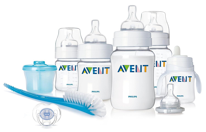 Amazon.com : Philips AVENT BPA Free Classic Infant Starter Gift Set : Baby Feeding Gift Sets