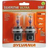 SYLVANIA 9007 SilverStar Ultra High Performance Halogen Headlight Bulb, (Contains 2 Bulbs) (Color: Silver)