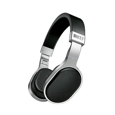 KEF M500 Hi-Fi  Casque audio supra-aural - Argent/Noir