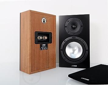 Canton 03257 Enceinte pour MP3 & Ipod Noir, Noix