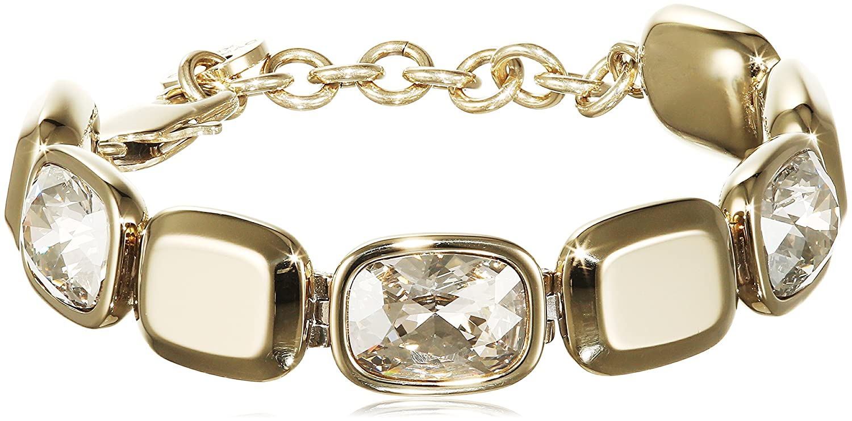 Dyrberg/Kern Damen-Armband 15/02 Tana Sg Crystal teilvergoldet 21.3 cm – 338241 günstig bestellen