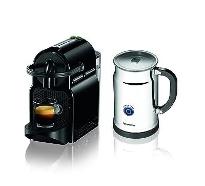 Nespresso Inissia Espresso Maker with Aeroccino Plus Milk Frother Via Amazon