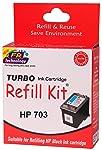TURBO INK CARTRIDGE REFILL KIT HP 703