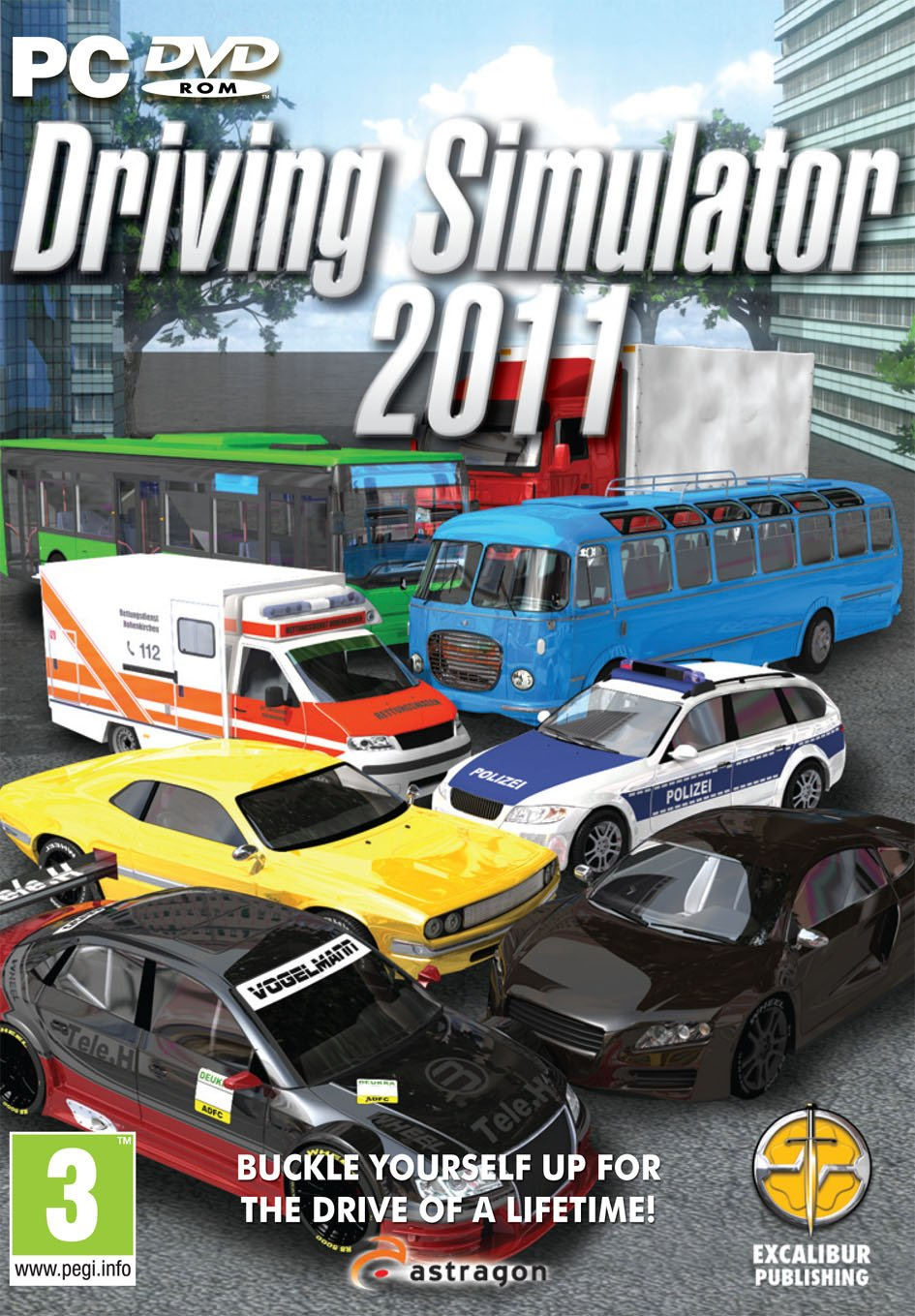 Driving Simulator 2011 cover