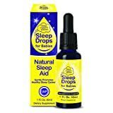 SleepDrops for Babies – Natural Herbal Sleep Aid for Babies aged up to 3, Going To Sleep Faster, Relaxation and Calming, Non-habit Forming (1 Ounce) Great Tasting (Tamaño: 1 ounce)