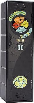 Suncast 48 in. Single Tier 2-Shelf Resin Sports Locker