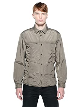 Tucano urbano 881DB4 solide, coupe-vent et respirant-men's style padded shirt. dark beige taille m