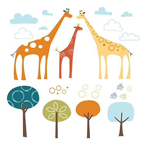 Skip Hop Wall Decals Giraffe Safari