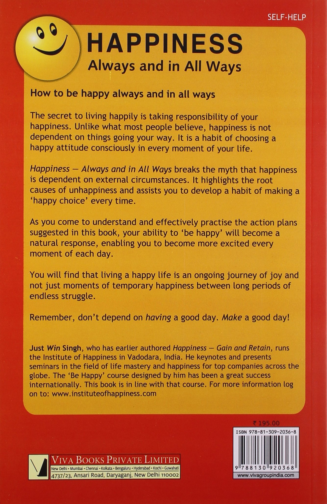 Buy Happiness: Always And In All Ways Book Online At Low Prices In India   Happiness: Always And In All Ways Reviews & Ratings  Amazon