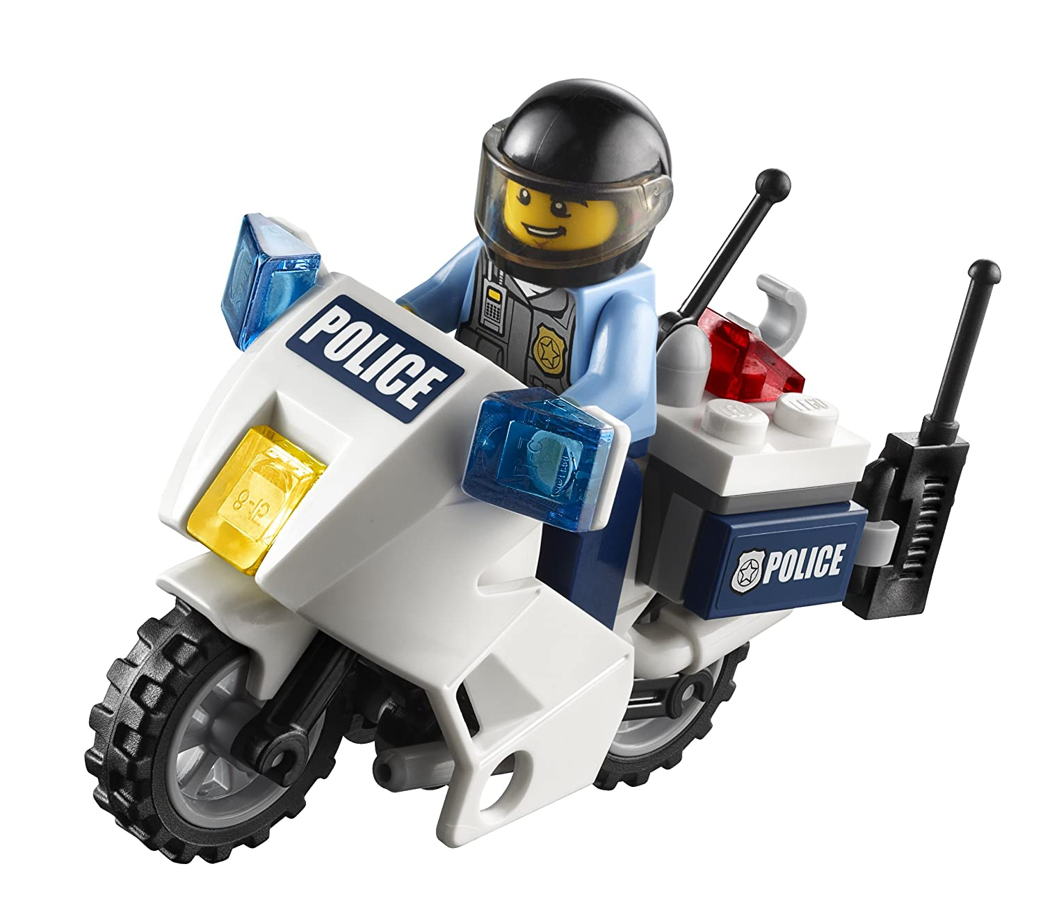 lego city police high speed chase 60007 new free shipping 673419188036 ebay. Black Bedroom Furniture Sets. Home Design Ideas