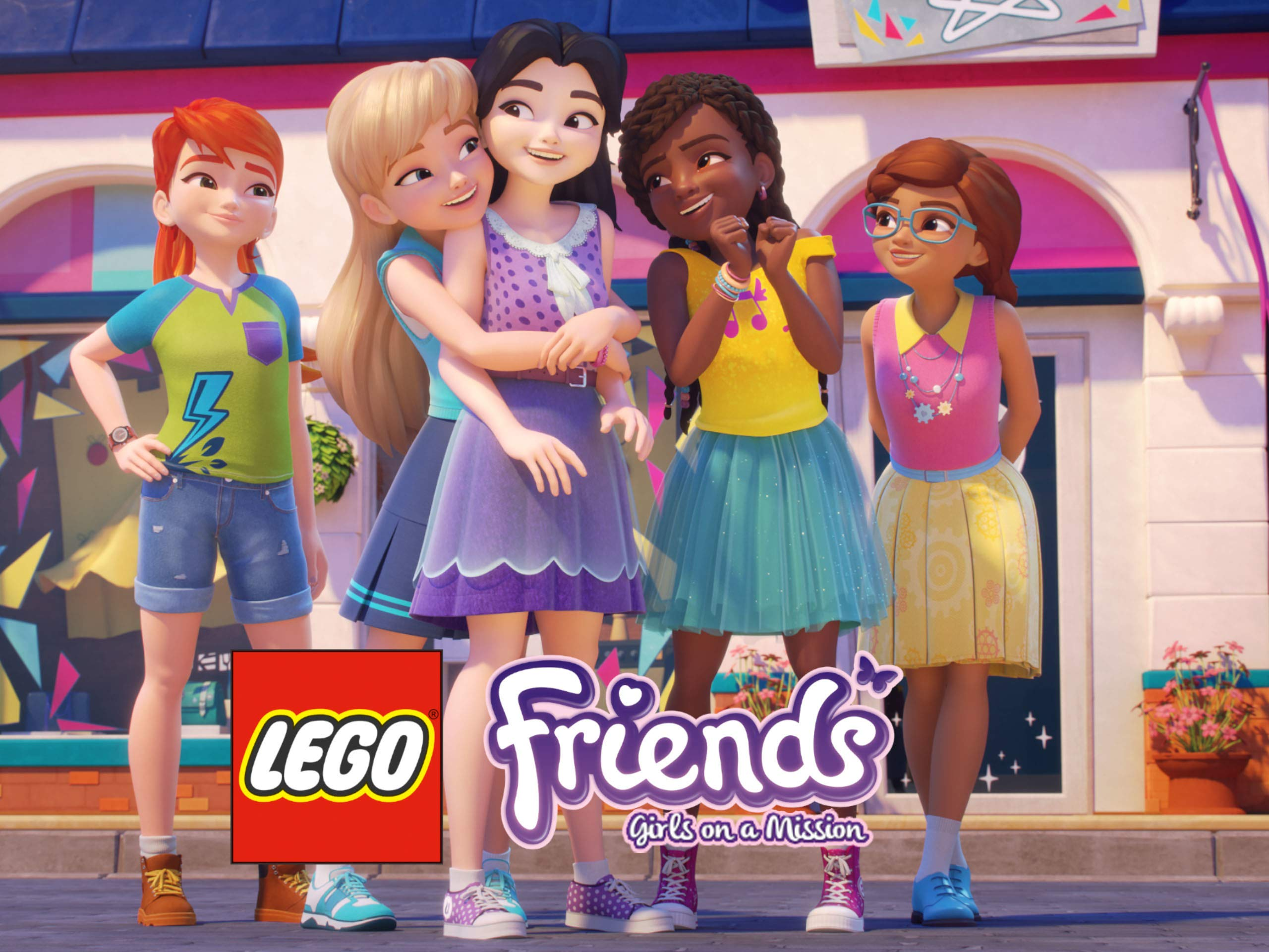 LEGO Friends Girls on a Mission on Amazon Prime Video UK