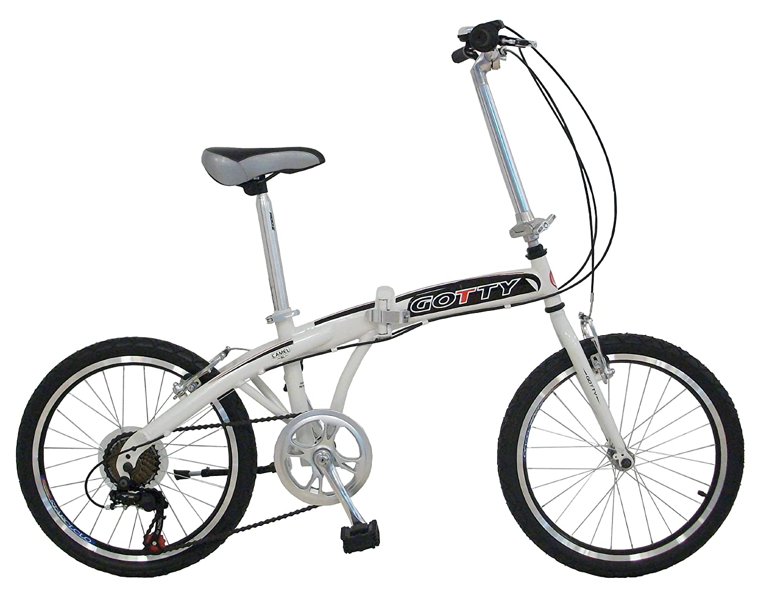 Bicicleta plegable Gotty CAMEL
