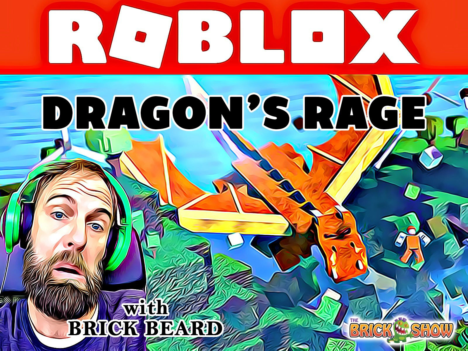 Clip: Roblox: Dragon's Rage with Brick Beard on Amazon Prime Instant Video UK