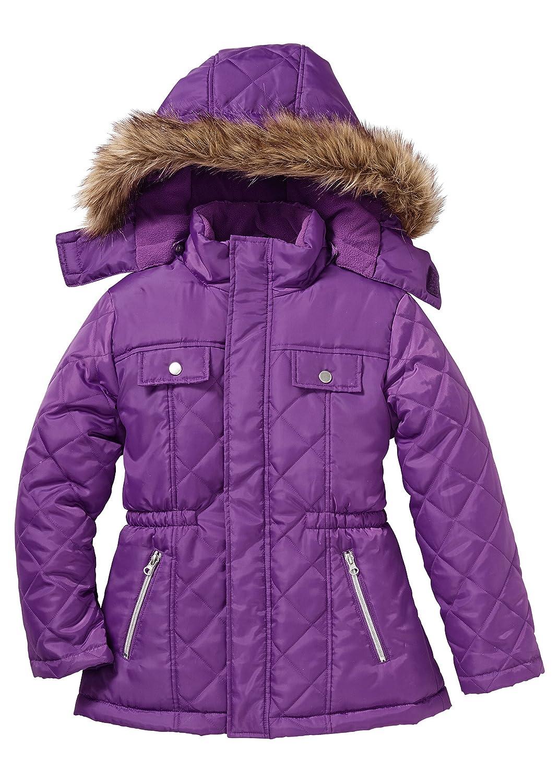 Mädchen Winterjacke mit Kapuze, Gr. 116-170 mit… jetzt kaufen