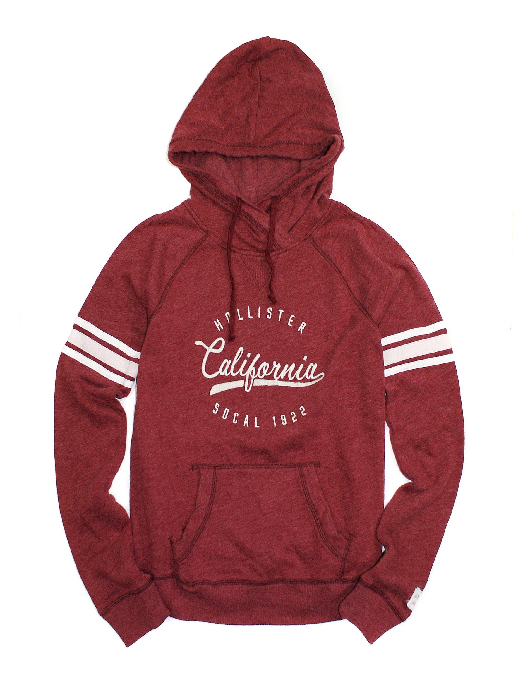 hollister womens logo graphic hoodie sweatshirt ho14