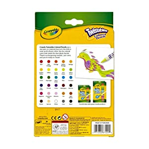 Crayola Twistables Colored Pencils Pack of 30 [Pack of 2 ] (Tamaño: 2 Pack 30 Count)