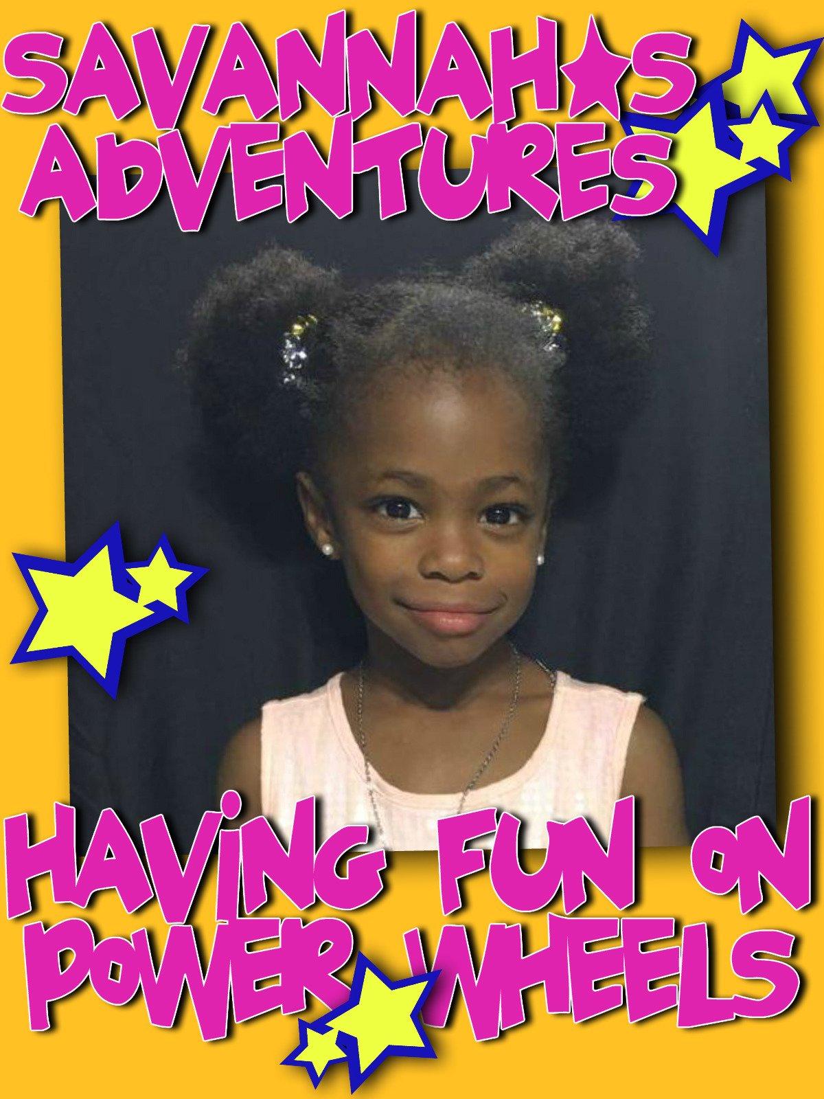 Clip: Savannah's Adventures Having Fun on Power Wheels