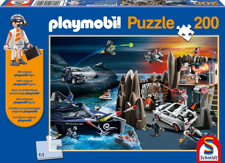 Schmidt Spiele 56021 – Playmobil, Top Agenten, 200 Teile günstig online kaufen